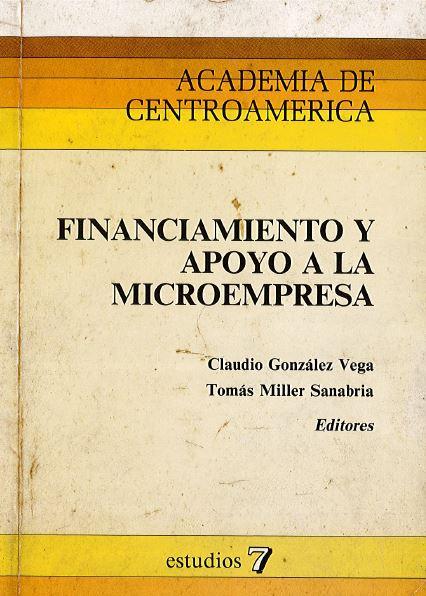 Financiamiento y apoyo a la microempresa