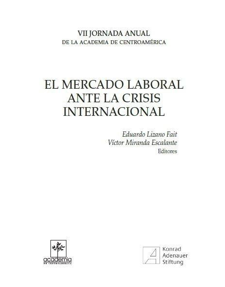 El mercado laboral ante la crisis internacional