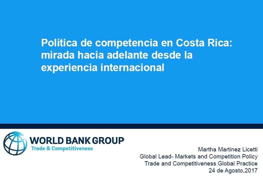 Política de competencia CR Internacional
