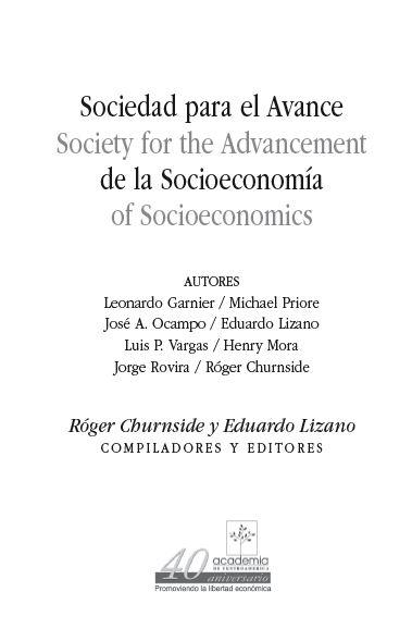 Socioeconomía