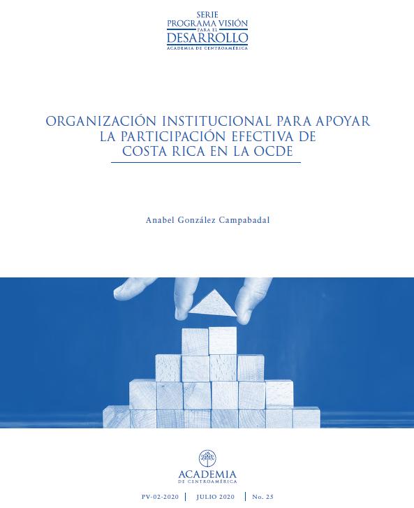 Organización institucional para apoyar la participación efectiva de Costa Rica en la OCDE